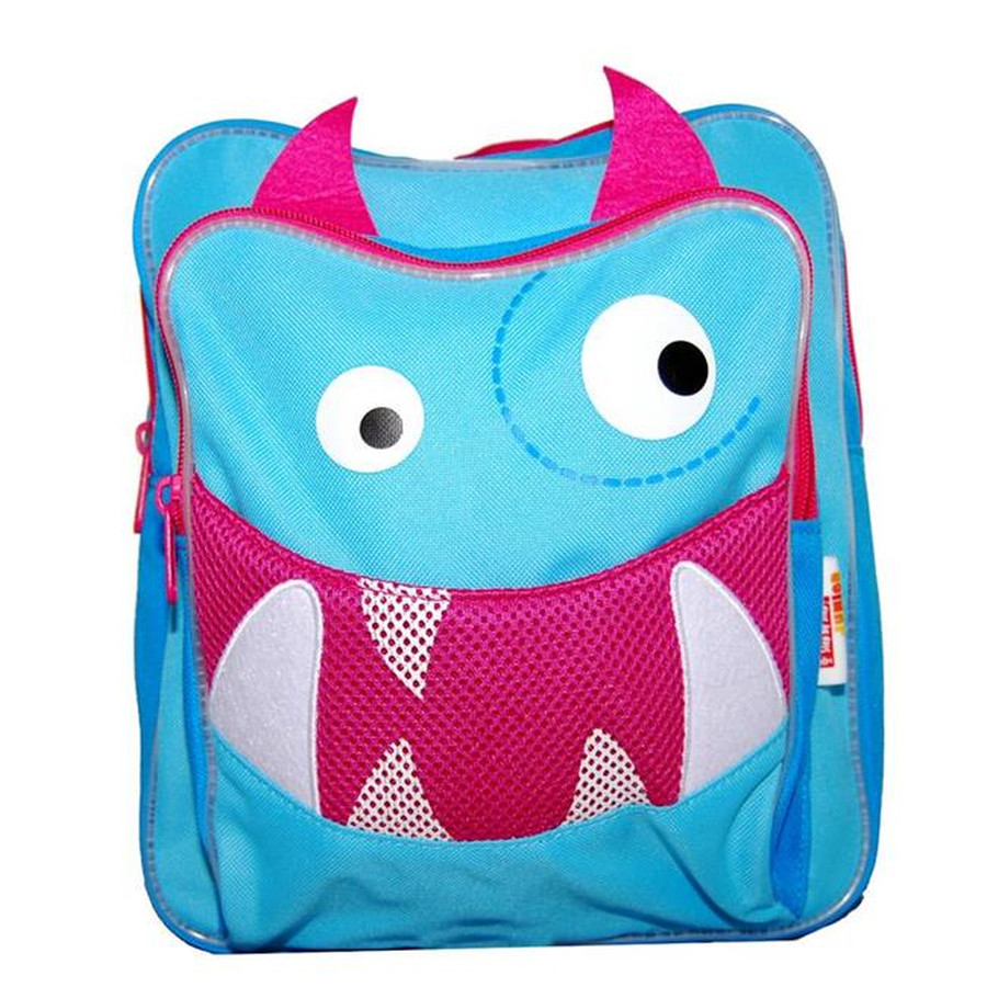 HAMA Step by Step Kinderrucksack Little Monster 102904 - Flöh