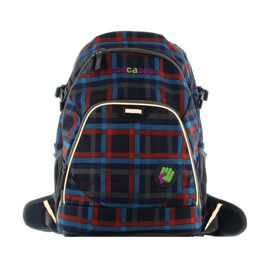 Hama Coocazoo Schulrucksack Evver Clevver 15 Zoll Laptopfach 119794 Check Peacoat II