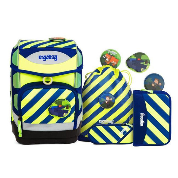 ergobag Special Edition Neo Reflektor- und Fluo-Mix Cubo...