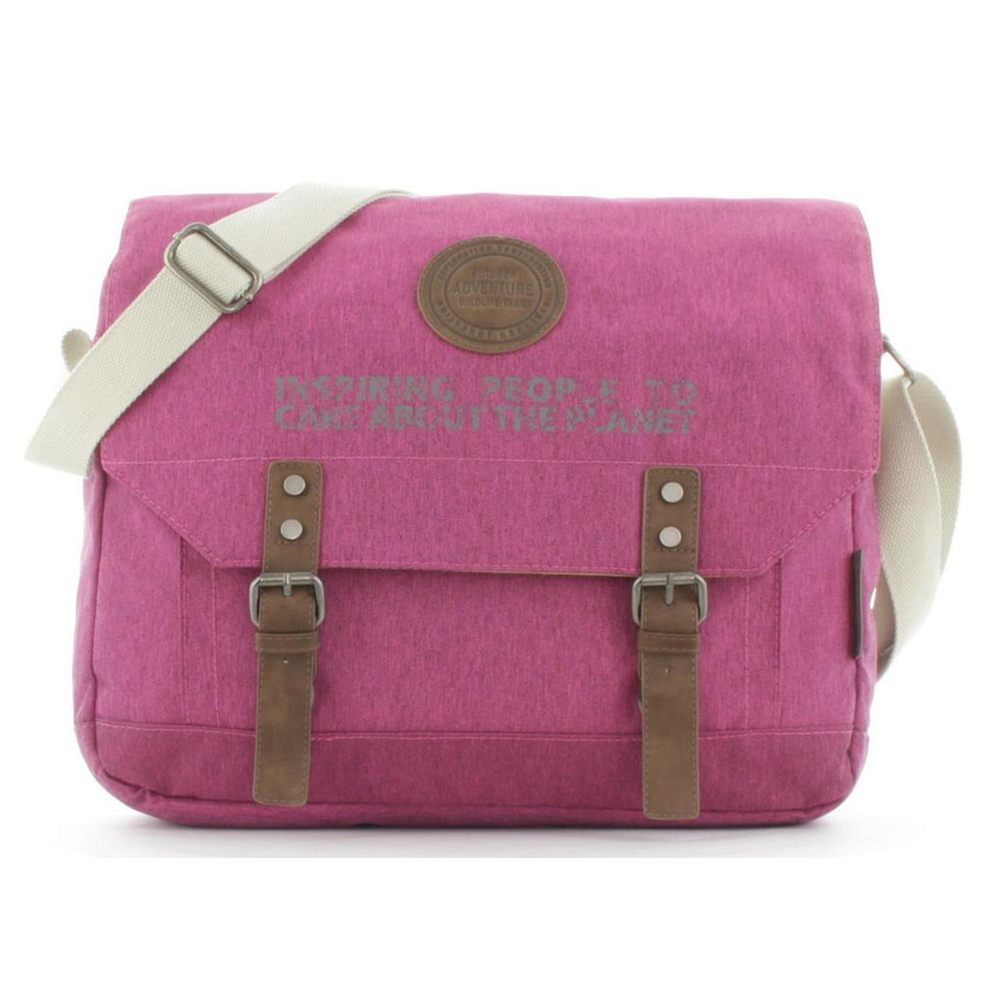 National Geographic Umhängetasche Messenger Bag Society N07102 Fuchsia