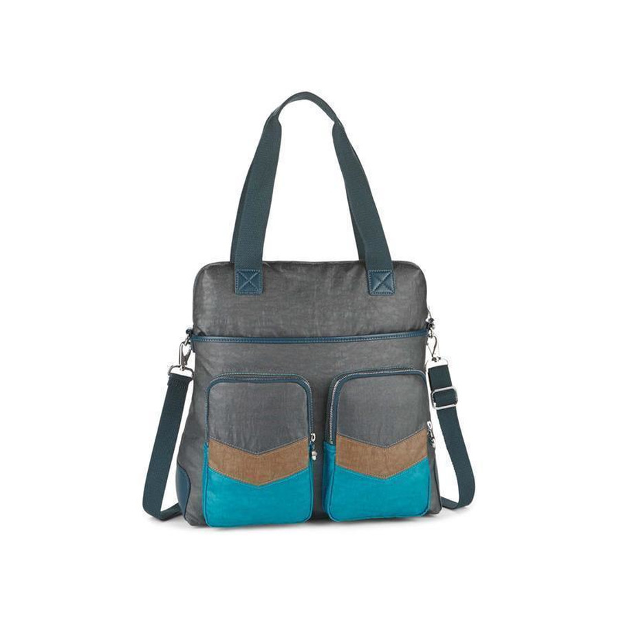 Kipling Addison Shopper Hochformat Twisted Block