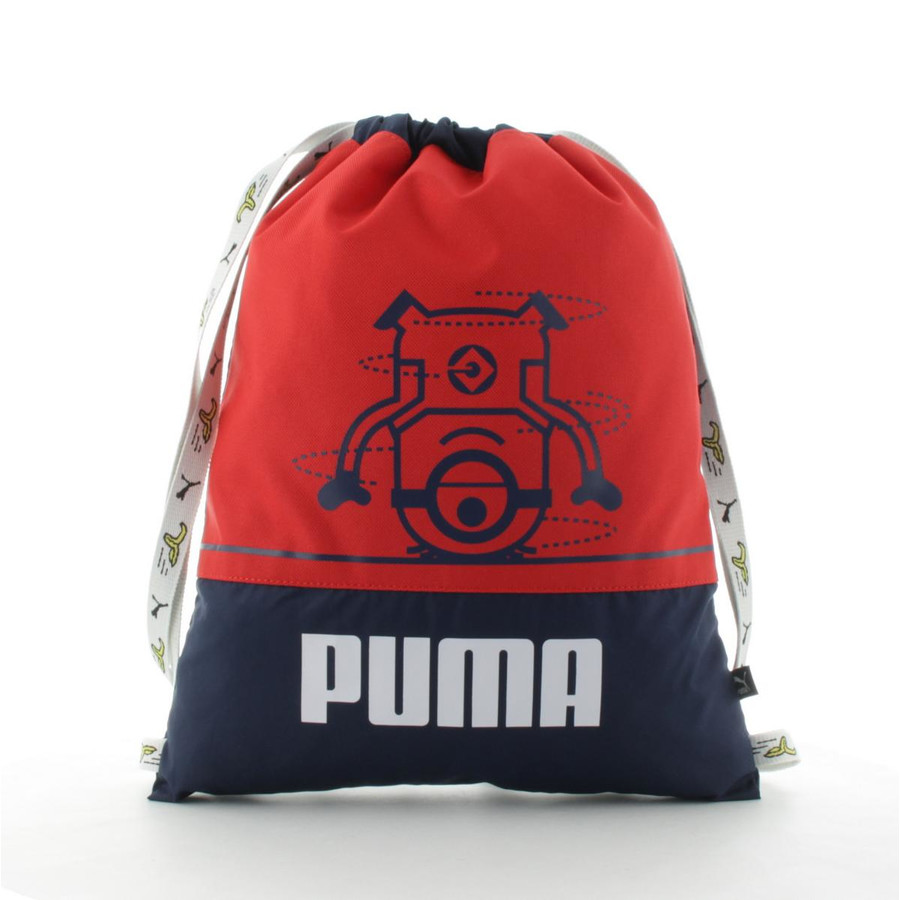 Puma Minions Gym Sack Turnbeutel Peacoat - Flame