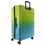 Franky Unisex Spinner Reisetrolley SET 55+65+75 cm Multicolor
