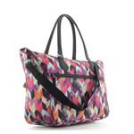 Franky Reisetasche 17 Zoll Laptopfach Colorful Jagged