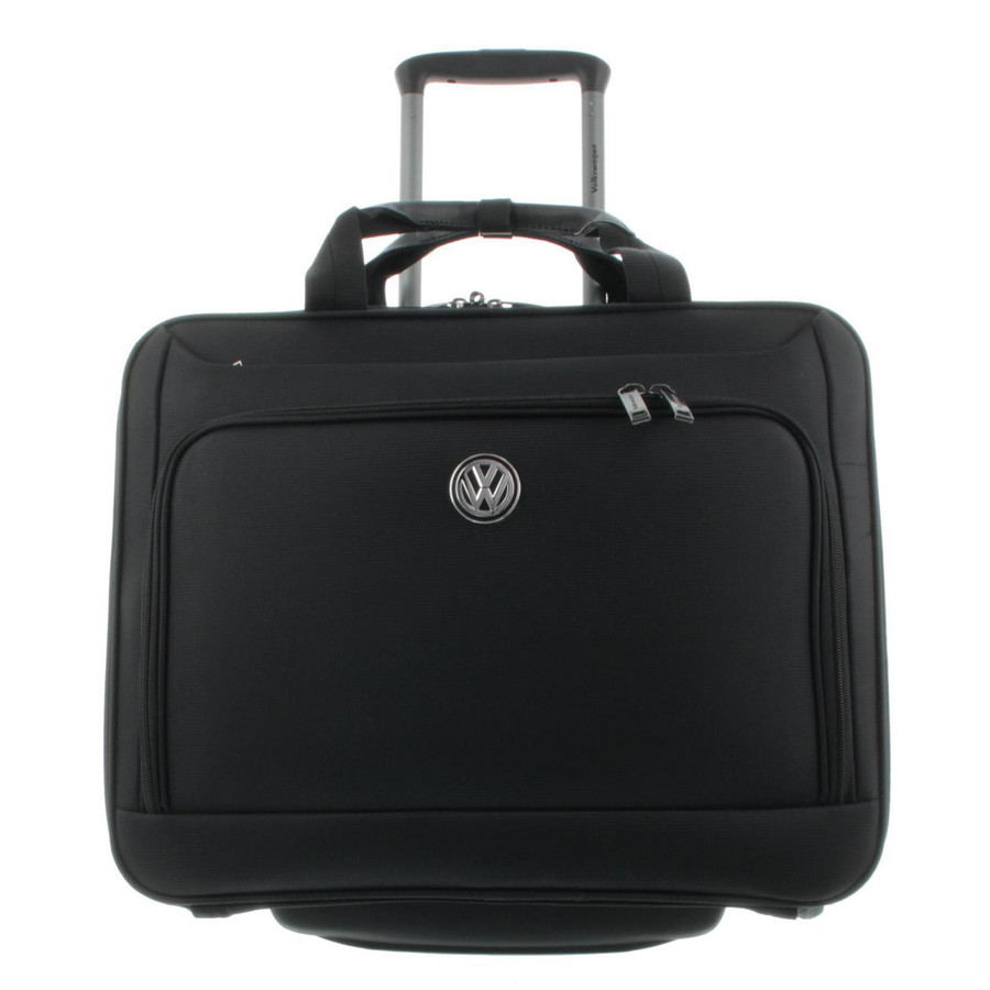VW Volkswagen Businesstrolley mit Laptopfach Handgepäck Black