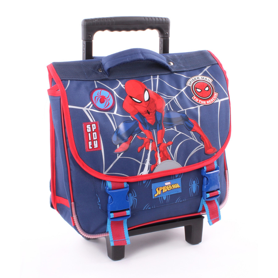 Vadobag Schul-Trolley Spider-Man Great Power