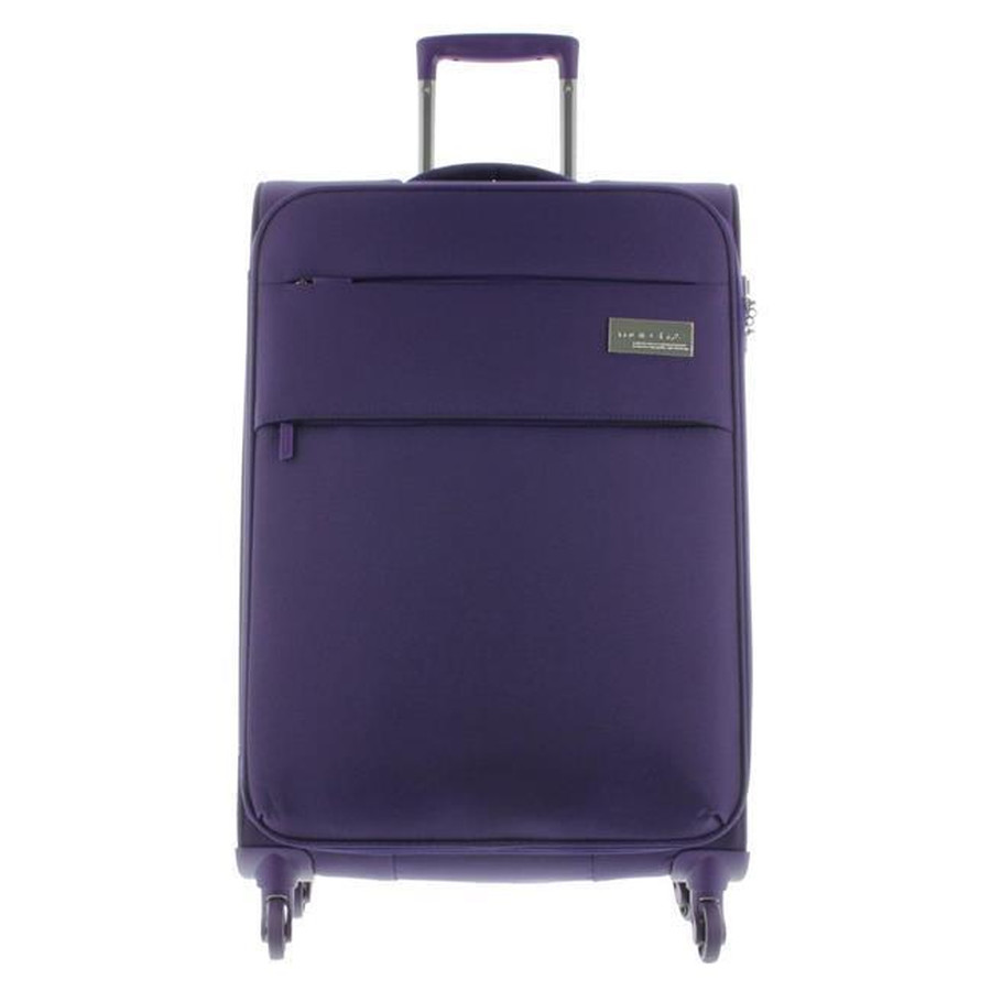 March 15 Trading Koffer Polo Spinner, 4 Rollen, Tsa-Schloss Gr. L 78cm, Ultra Leicht Purple