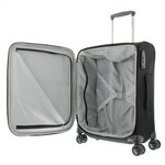 Samsonite Dynamore Spinner 55/20, 55 cm Black