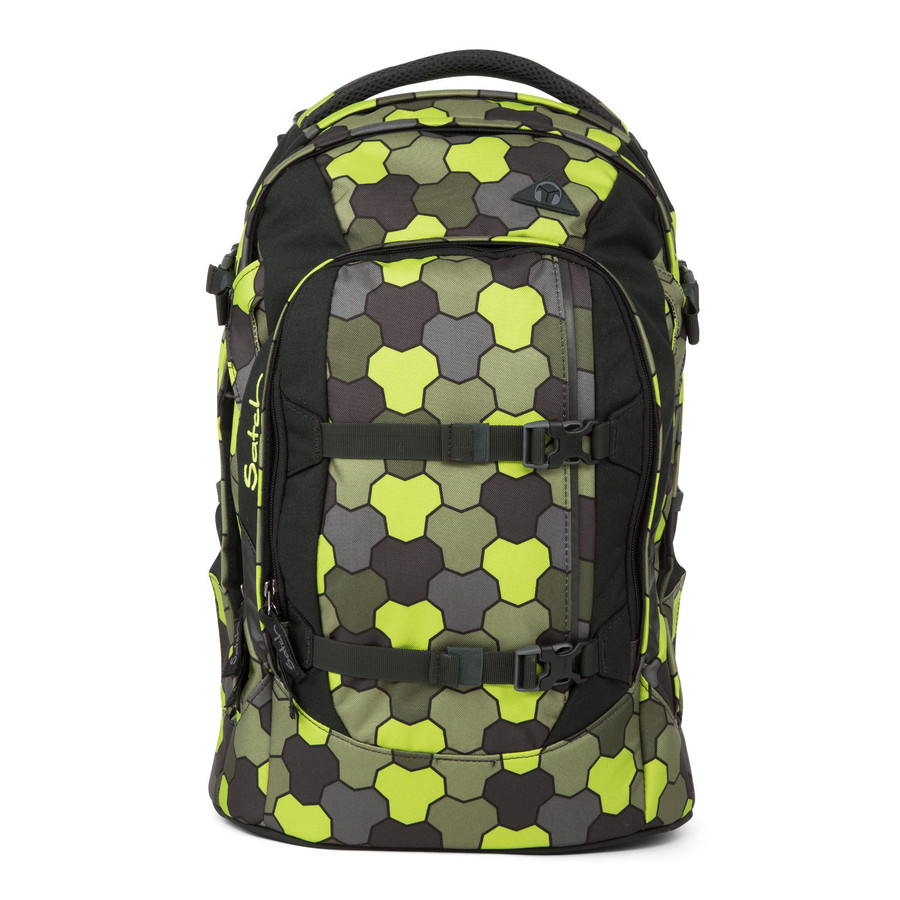 satch pack Schulrucksack Konfiguration Jungle Flow