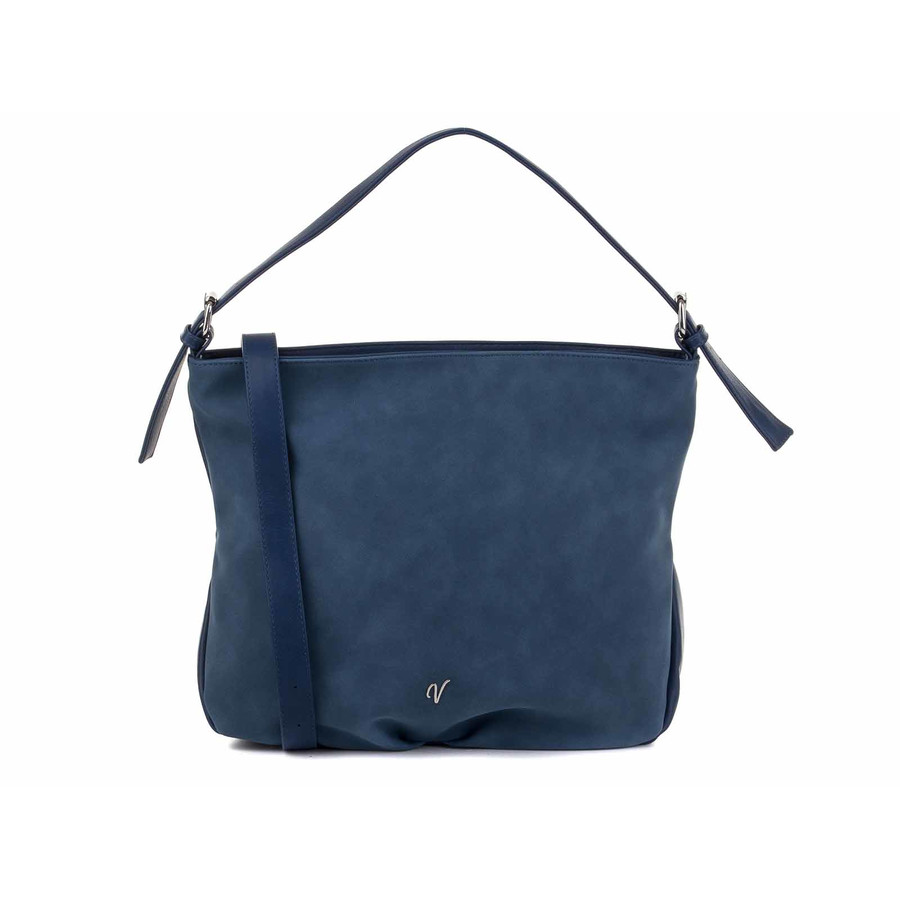 Vleder Bag Hobo Bag ANKE Boston GZSZ Blue