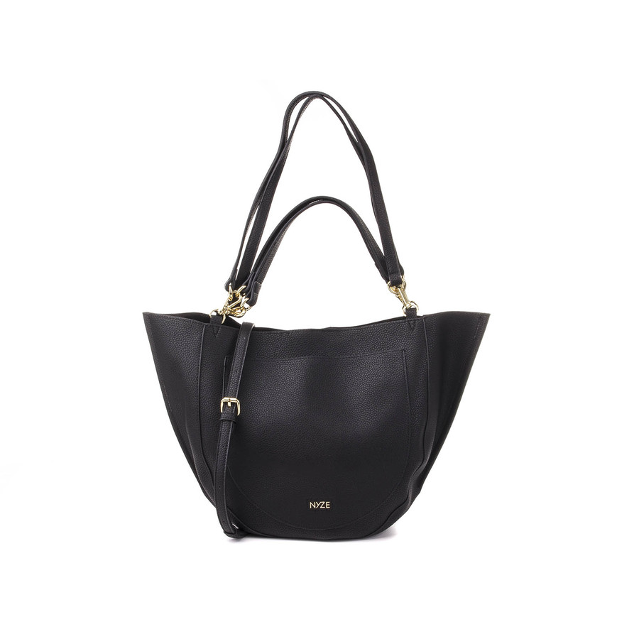 NYZE Hobo Doubleface Damen Shopper/Beutel Black