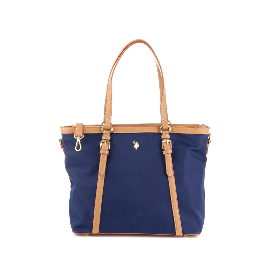 US Polo Assn Housten Shopping Bag BEUHU0100WIP navy/beige