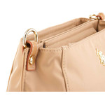 US Polo Assn Housten Crossbody 2 Zip Bag BEUHU2814WIP beige
