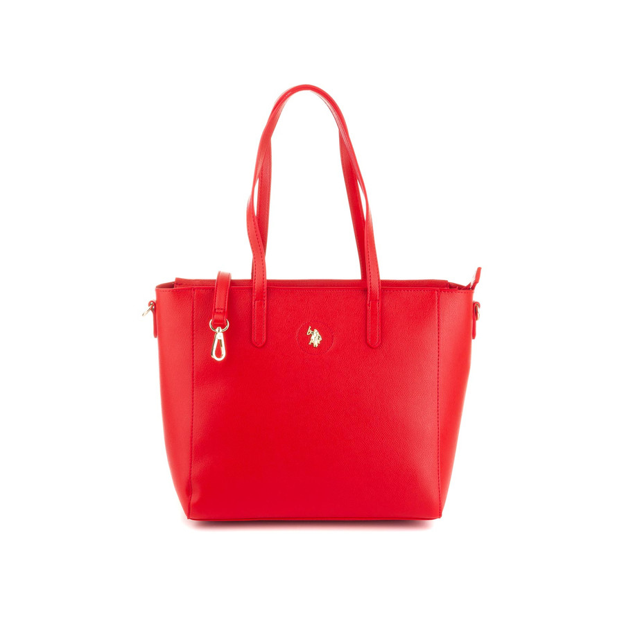 US Polo Assn Jones Shopping Bag BEUJE0661WVP red