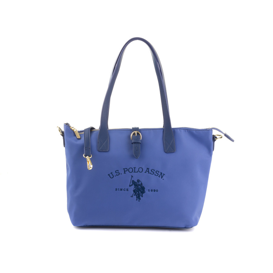 US Polo Assn Patterson Shopping Bag M BEUPA0134WIP light blue