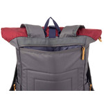 Franky Businessrucksack RS49-DC-anthrazit/wine