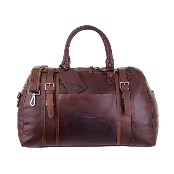 The Chesterfield Brand C200022 Leder Weekender Reisetasche