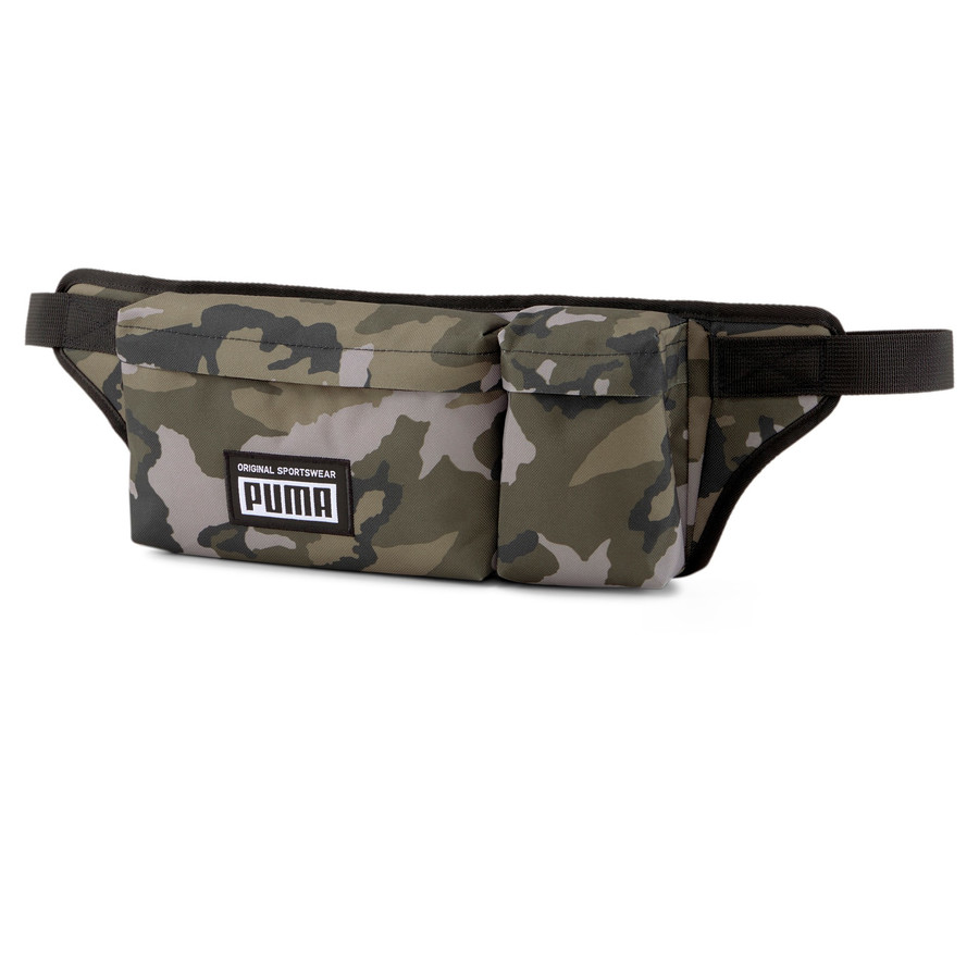 Puma Academy Multi Waist Bag forest night-camo