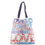 Skechers Shopper groß Schultertasche L Bliss LOVE 70306 - Blau Rot